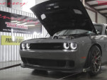 Dodge Challenger Hellcat makes 1,000 horsepower on the dyno