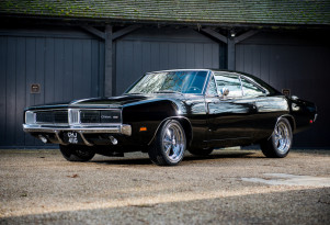 "1969 Dodge Charger ""Bullitt"" replica"