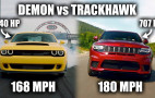 Why is the Jeep Grand Cherokee Trackhawk faster than the Dodge Demon?