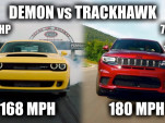 Dodge Demon vs Jeep Grand Cherokee Trackhawk