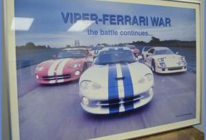 Dodge Viper memorabilia from Conner Avenue Assembly plant