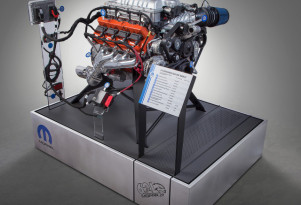 Mopar unleashes its Hellcrate; Hellcat crate engine kit