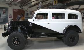 1942 Dodge Carryall restomod on Jay Leno's Garage