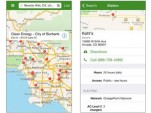DOE Alternative Fueling Station Locator iPhone app screenshot