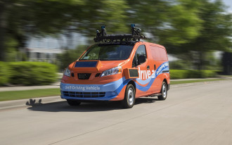 Self-driving vans ready to shuttle riders in Dallas suburb this summer