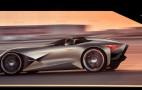 DS X E-Tense is a futuristic supercar with Formula E engineering