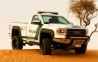 2015 GMC Sierra Pickup Joins Dubai Police Fleet