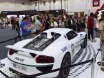 Dubai Police's Porsche 918 Spyder, 2015 Dubai Motor Show