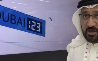 "Dubai's new ""smart"" license plates can communicate with onlookers"