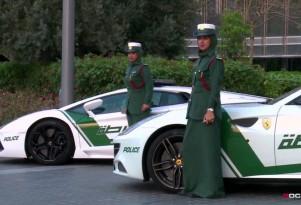 Dubai's police car fleet is full of supercars