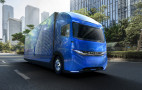 E-Fuso Vision One heavy-duty electric truck concept with 217-mile range debuts in Tokyo