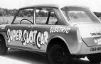 Super Slot Car: Electric Drag Racing Via V-12 Engine And Cables!