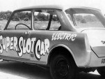 E.J. Potter's 'Super Slot Car' was an MG 1100 sedan with 4 jet-engine starter motors, one per wheel