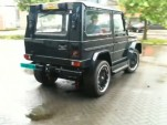 e-Traction's G-Electric Mercedes G-Wagen [Video capture]