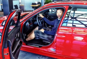 Earl Duque picks up his new 2012 BMW 3-Series