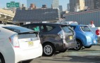 Earth Day Stunt: Plug-In Electric Cars Trace 'E' In NYC