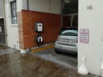 Ecotality Blink Level 2 residential charging station for electric cars