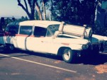 ECTO-1a from Ghostbusters II movie (Image: Instagram user cheekybama)