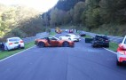 Eight Cars Crash On The Nurburgring, Including BMW M3 Ring Taxi: Video