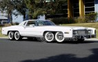 8-wheeled Cadillac Eldorado with hot tub, barbecue up for auction