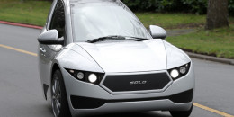 Canadian electric-carmaker Electra Meccanica delivers first vehicle to U.S.