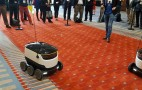 Starship electric sidewalk-delivery robot a hit at DC Auto Show