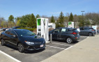 Electrify America switches on the first 350 KW Fast Charging station in Chicopee, Mass.