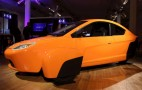 Elio 84-MPG Three-Wheel Prototype: Driven In Parking Lot (Video)