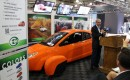Elio Motors founder Paul Elio at New York Auto Show press conference, Apr 2015