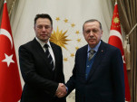 Elon Musk and Turkish President Recep Tayyip Erdogan