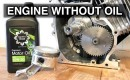 Engine with oil video