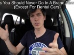 Engineering Explained discusses five things you should never do in a brand new vehicle