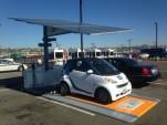 Envision Solar EV ARC solar charging station