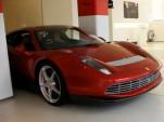 Eric Clapton's custom Ferrari SP12 EPC spotted in London showroom