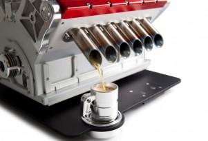 Espresso Veloce Serie Titanio V-12 coffee machine