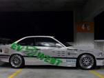 EV West's electric BMW M3 Pikes Peak Hill Climb car