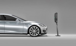 Evatran Plugless wireless charger for Tesla Model S