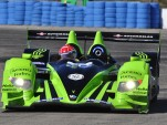 Eventual championship winning HPD ARX-01c in action at Sebring 2010 Photo: Anne Proffit
