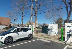 EVgo adds used BMW i3 battery packs to charging stations in California