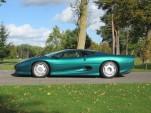 Ex-Brunei Royal Family Jaguar XJ220 Up For Auction