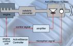 Exhaust speaker system tunes hybrid to V8 sound