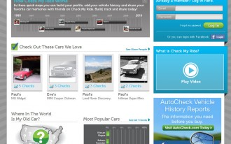 Love Your Car? Share That Love On The New Social Network, CheckMyRide.com