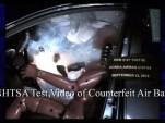Exploding counterfeit airbag - NHTSA