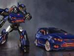 Falcatron Transformer based on the Ford Falcon
