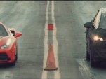 Faraday Future electric car takes on Ferrari 488 GTB in drag race