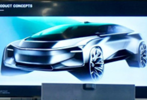 Faraday Future previews future product during supplier meeting