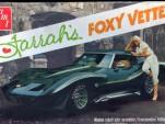 Farrah Fawcett and the 1970 Chevrolet Corvette