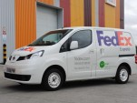 FedEx to use Nissan NV200 electric van in London