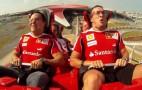 Video: Felipe Massa And Fernando Alonso Ride World's Fastest Roller Coaster