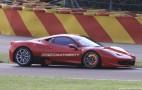 Spy Shots: Ferrari 458 Challenge Takes To The Track
